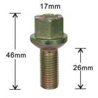 Wholesale Customized Alloy Wheel Accessories, High Strength Wheel Bolt from china suppliers