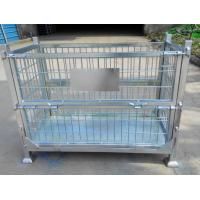 Wholesale Zinc coated wire mesh storage container from china suppliers