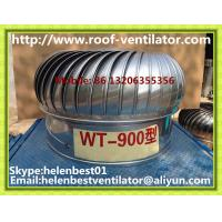 Wholesale 900mm roof turbo ventilator for warehouse stainless steel from china suppliers