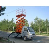 Wholesale 2040kg Telescopic Scissor hydraulic Lift platform with 2400x1500MM Table Size from china suppliers