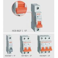 Wholesale 4500A / 6000A Customized Mini Circuit Breaker , Safety AC240 / 415V DIN Rail MCB from china suppliers