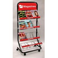 Wholesale Single Sides Floor Magazine Rack from china suppliers