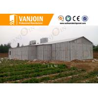 Wholesale Prefab House 100mm EPS Foam Sandwich Wall Panels With Sound Insulation from china suppliers