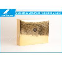 Wholesale Gold UV Pattern Cardboard Paper Perfume Gift Boxes With Customized Design from china suppliers
