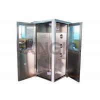 Wholesale 90 Degree L Design Clean Room Modular , Stainless Steel Air Showers And Pass Thrus from china suppliers