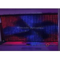 Wholesale P10 Flexible LED Curtain Flash Effects 4m X 6m With Fireproof Fabric Material from china suppliers
