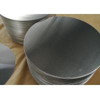 Wholesale 1.8mm 1100 Aluminum Circle Blanks , Fry Pan Lightweight Round Aluminum Discs from china suppliers