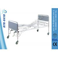 Wholesale Custom Coated Steel Manual Medical Hospital Beds For Home Care from china suppliers