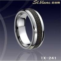 Wholesale Tungsten Ring Inlay Genuine Skin TX-241 from china suppliers