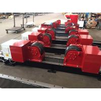 Buy cheap 20T/ 44000LBS Bolt Adjustment Conventional Pipe Welding Rollers With Pu Wheels from wholesalers