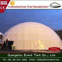 Wholesale Commercial geodesic large dome tent for party 4m - 60m diameter from china suppliers