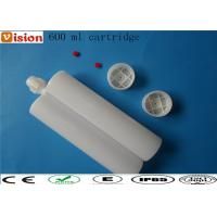 Wholesale AB Glue cartridge 600 ml two parts cartridge, twin cartridge, AB cartridge from china suppliers