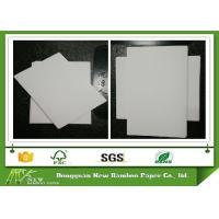 Wholesale Anti-Curl Paperboard Grey Back Duplex Board for package box printing from china suppliers