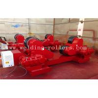 Buy cheap Red Color Self Aligning Heavy Duty Roller Stand Beds With 380 / 550v Voltage from wholesalers