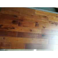 Wholesale Toffee stained American Hickory Solid Hardwood Floorings from china suppliers