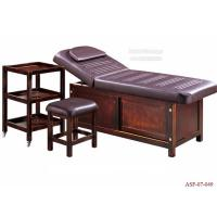 Wholesale ASF-07-049 Adjustable Wooden Beauty Salon Massage Bed with Table Wholesales Supplier from china suppliers