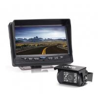 "Wholesale 7"" LCD Monitor Remote Control Vehicle Rear View Camera Waterproof from china suppliers"