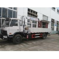 Wholesale dongfeng 4*2 LHD 190hp 7tons truck mounted crane for sale, factory sale best price dongfeng 7tons truck with crane from china suppliers