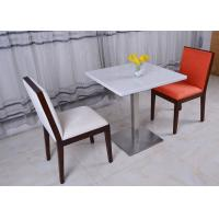 Wholesale Stainless Steel Marble Top Dining Room Chair Modern French Restaurant Table from china suppliers