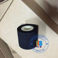 Wholesale 35mm*30mm  45mm*40mm  40mm*40mm black solid ink roller for food plastic bag stamping from china suppliers