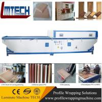 wood grain kitchen cabinet door vacuum membrane press machine