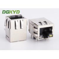 Wholesale Single Rj45 Ethernet Jack Integrated Transformer / Common Mode Choke , Og/Y Led from china suppliers
