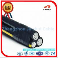 Wholesale Polyethylene Insulation Triplex Electrical Wire , AAAC Overhead Service Conductors from china suppliers