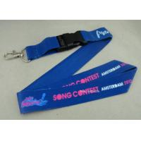 Wholesale Full Color Printing Promotional Lanyards Sport Meeting Medal Ribbon / ID Neck Ribbon from china suppliers