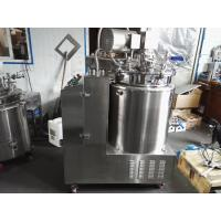 Wholesale SS316/304 Starch Gelatin Melting Tank With Vacuum And Mix Paddle and platform from china suppliers