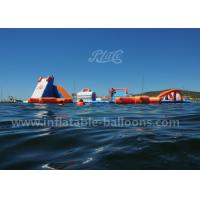 Wholesale 135 Persons Ocean Parks Inflatable Water Play Equipment With Water Blob SGS from china suppliers