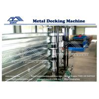 Wholesale G550MPA Roof Deck Roll Forming Machine 22KW Main Power 0.8-1.6mm Thickness from china suppliers