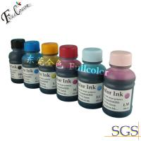 Wholesale Anti-Alcohol Resistance PVC ink, Eco solvent inks for Epson R270 printer from china suppliers