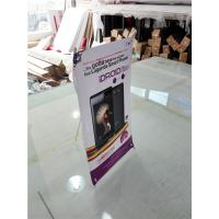 Wholesale Mini Table  X Style Banner Stand Digital Printing Desktop Advertising Display from china suppliers