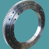 Wholesale slewing ring bearingsSingle row four point contact ball slewing bearing external gear from china suppliers