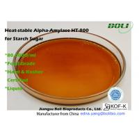 Buy cheap BOLI Liquefaction Enzyme Heat Stable Alpha Amylase HT-800 For Starch Sugar from wholesalers