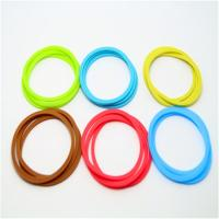 Quality Transparent Silicon Rubber Parts Sealing Ring , Custom Rubber Auto Parts for sale