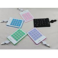 Wholesale Usb silicone numeric keyboard, silicone numeric keypad, laptop numeric keypad from china suppliers