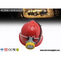Wholesale 10000 Lux electric miners lamp , hard hat headlamp 5.6Ah Li ion battery from china suppliers