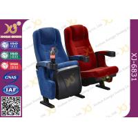 Wholesale Thickness Head Cushion Movable Theatre Seating Chairs With PP Cover Fabric Armrest from china suppliers