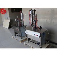 Wholesale Bag On Valve Spray Can Filling Machine , Semi Automatic Aerosol BOV Filling Machines from china suppliers