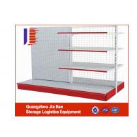 Wholesale Double Side Product Supermarket Display Racks Tiered Display Shelves from china suppliers