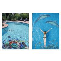 Buy cheap LAR025 Swimming pool mosaic pattern chip size 20*20mm from wholesalers