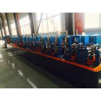 Wholesale Galvanised Steel ERW Pipe Mill Line Blue Color Energy Saving 120m / Min Running Speed from china suppliers