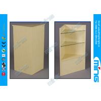 Wholesale Retail Store Commercial Display Cabinets , Adjustable Maple Open Showcase from china suppliers