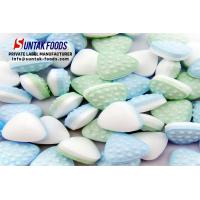 Wholesale Sugar Free Two Layers Bulk Colorful Mint Candies For Resturant from china suppliers