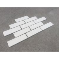Quality M36400  White color clay face wall brick ,thin brick cladding tiles veneer for wall decoration for sale