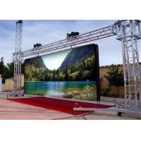 Wholesale P6 SMD3535 Full Color Outdoor LED Video Board / P6 Led Screen With Pixel Pitch 6mm from china suppliers