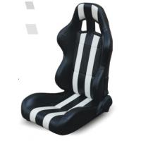 Wholesale High performance universal sport car seats / black and white bucket seats from china suppliers