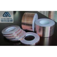 Quality Non - Conductive Adhesive Copper Foil Tape For EMI Shielding T0.035*W380mmx L50m for sale