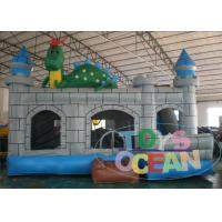 Wholesale Ninja Turtle Slide House Inflatable Bouncer Combo Outdoor PVC Inflatable Games from china suppliers